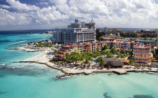 Отель Fiesta Americana Cancun Villas пляж