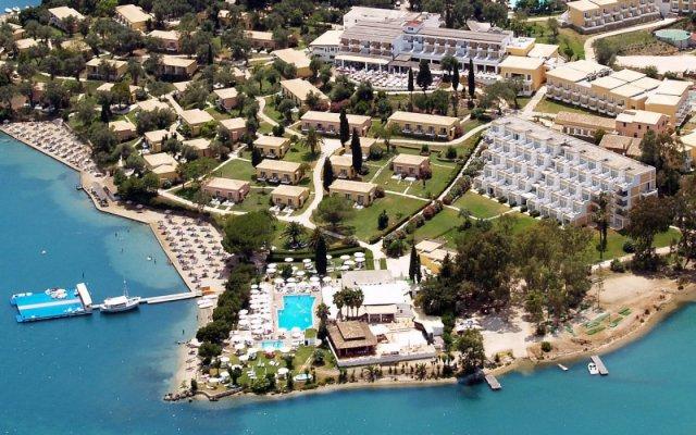 Отель Corcyra Gardens - All inclusive пляж