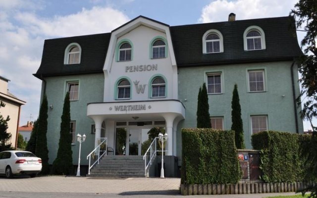 Отель Wertheim Чехия, Прага - 1 отзыв об отеле, цены и фото номеров - забронировать отель Wertheim онлайн вид на фасад