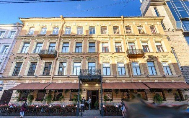 Гостиница Место вид на фасад