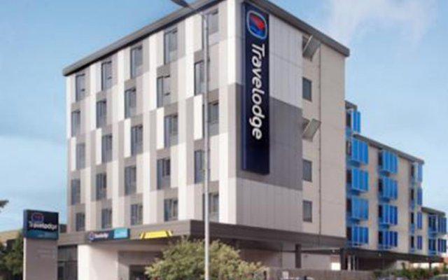Отель Travelodge Manchester Upper Brook Street вид на фасад