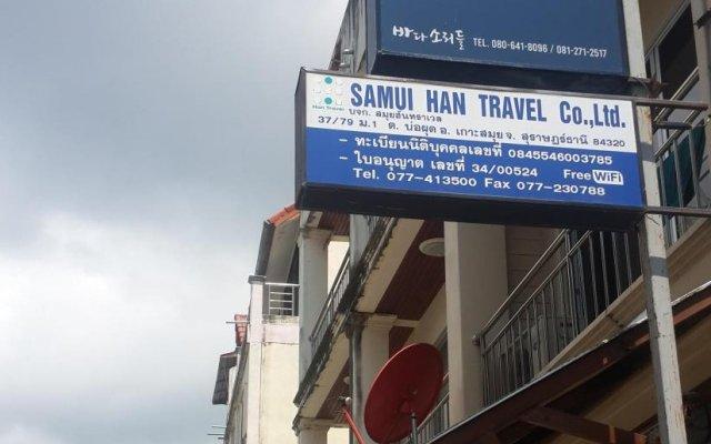 Отель Dd Guesthouse & Backpacker Самуи вид на фасад