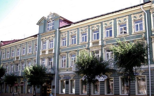 Гостиница Бристоль-Жигули вид на фасад