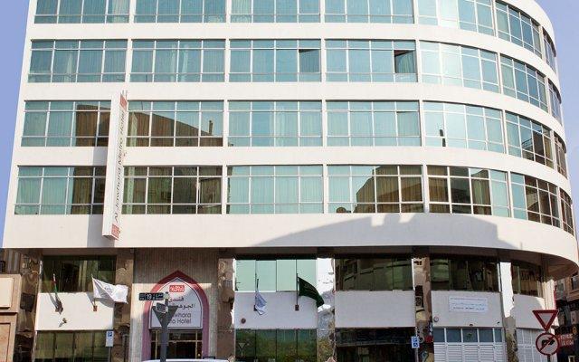 Отель Al Jawhara Metro Дубай вид на фасад