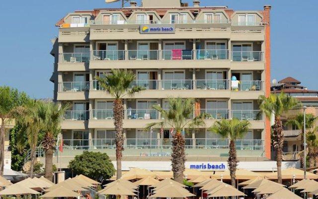 Отель Maris Beach Мармарис вид на фасад