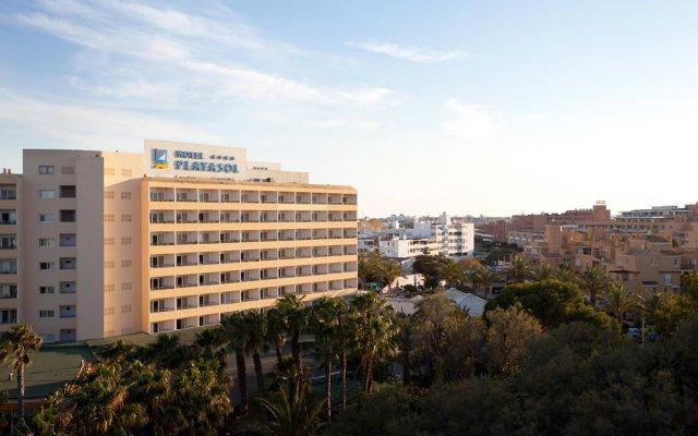 Playasol Aquapark & Spa Hotel вид на фасад