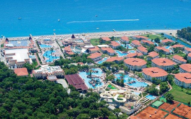 Gural Premier Tekirova Турция, Кемер - 1 отзыв об отеле, цены и фото номеров - забронировать отель Gural Premier Tekirova онлайн пляж