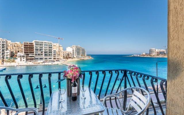Апартаменты Spinola Bay балкон