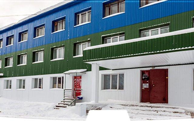Мини-отель Сияние Сыктывкар вид на фасад