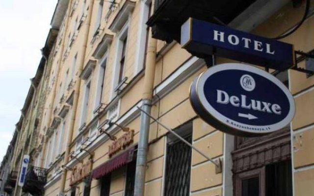 Гостиница Nevsky De Luxe вид на фасад