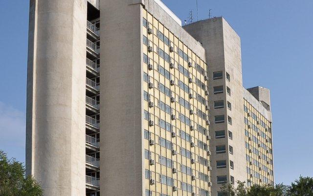Гостиница Интурист в Хабаровске 2 отзыва об отеле, цены и фото номеров - забронировать гостиницу Интурист онлайн Хабаровск вид на фасад