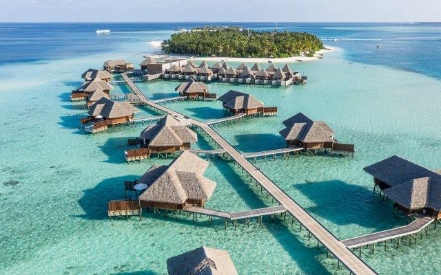 Отель Conrad Maldives Rangali Island пляж