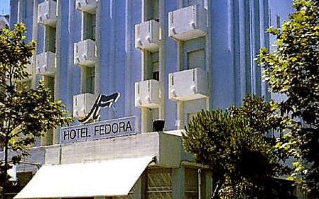 Hotel Fedora Rimini вид на фасад