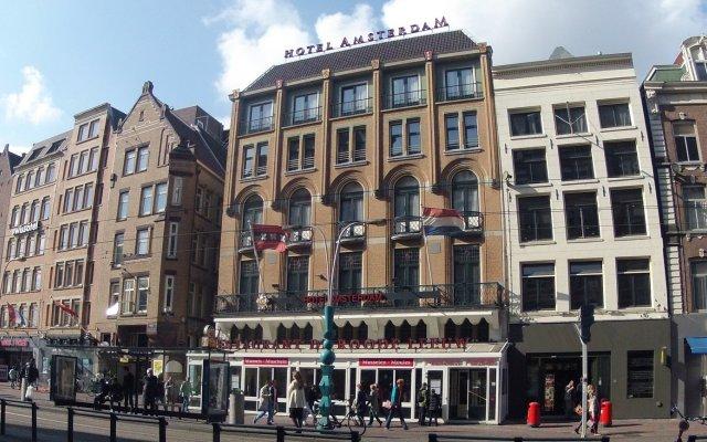Отель Amsterdam De Roode Leeuw Нидерланды, Амстердам - 1 отзыв об отеле, цены и фото номеров - забронировать отель Amsterdam De Roode Leeuw онлайн вид на фасад