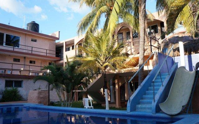 Отель Azteca Мексика, Канкун - отзывы, цены и фото номеров - забронировать отель Azteca онлайн бассейн