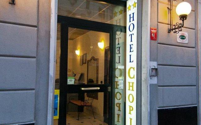 Hotel Chopin Генуя вид на фасад