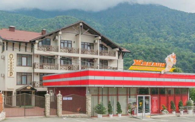 Гостиница Осипов в Красной Поляне отзывы, цены и фото номеров - забронировать гостиницу Осипов онлайн Красная Поляна вид на фасад