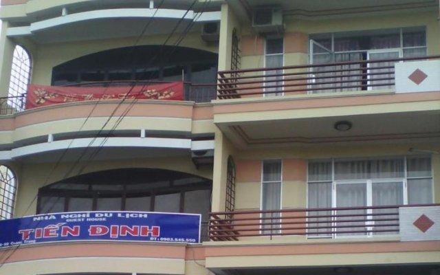 Tien Dinh Hotel Нячанг вид на фасад