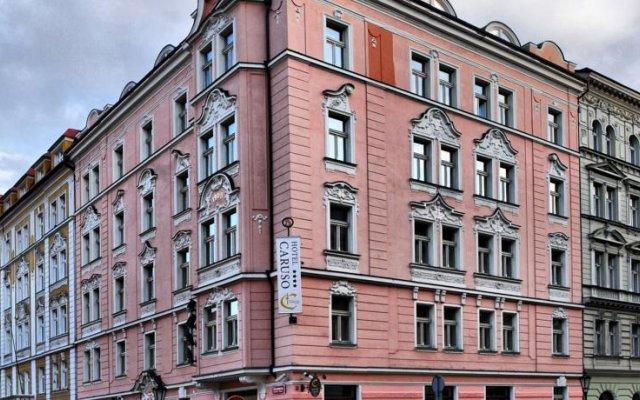 Отель Caruso Чехия, Прага - отзывы, цены и фото номеров - забронировать отель Caruso онлайн вид на фасад