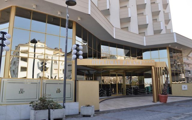 Diplomat Palace Hotel вид на фасад