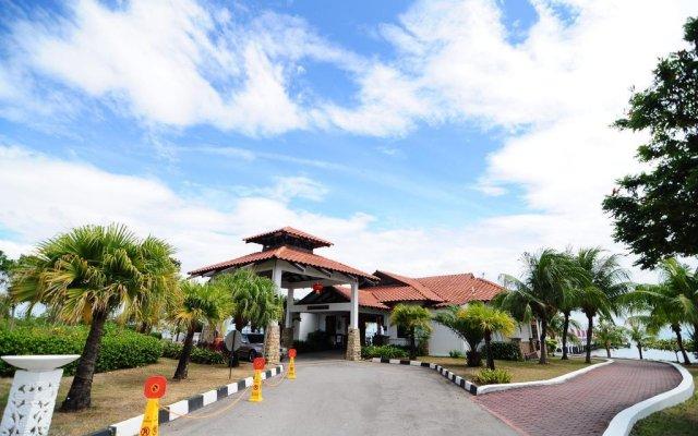 Отель Jerejak Rainforest Resort Малайзия, Пенанг - отзывы, цены и фото номеров - забронировать отель Jerejak Rainforest Resort онлайн вид на фасад
