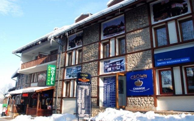 Отель Rodina Болгария, Банско - отзывы, цены и фото номеров - забронировать отель Rodina онлайн вид на фасад
