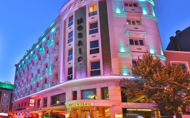 Hotel Mosaic вид на фасад