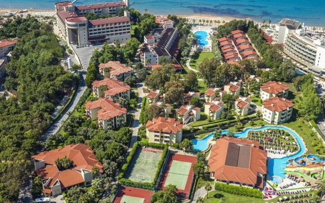 Отель Melas Holiday Village - All Inclusive пляж