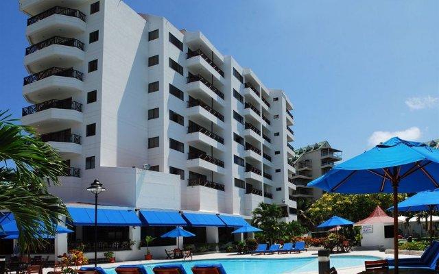 Отель Arena Blanca Колумбия, Сан-Андрес - отзывы, цены и фото номеров - забронировать отель Arena Blanca онлайн бассейн