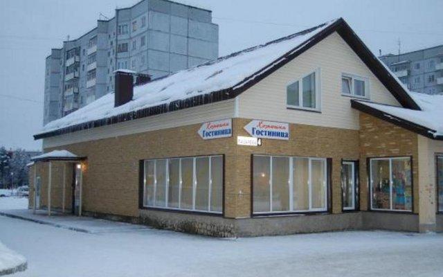 Гостиница Хозяюшка вид на фасад