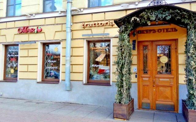 Пётр Отель вид на фасад