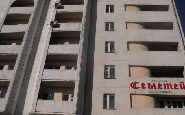 Отель Semetey Hotel Кыргызстан, Бишкек - отзывы, цены и фото номеров - забронировать отель Semetey Hotel онлайн вид на фасад