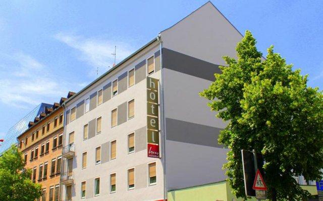 Hotel Marienbad вид на фасад