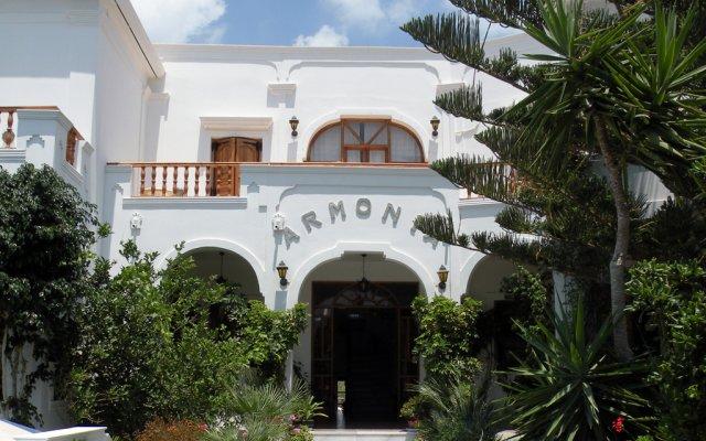 Отель Armonia вид на фасад