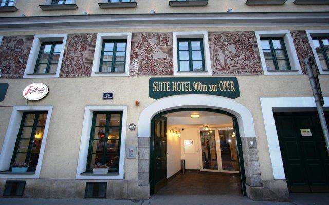 Отель Suite Hotel 900 m zur Oper Австрия, Вена - 1 отзыв об отеле, цены и фото номеров - забронировать отель Suite Hotel 900 m zur Oper онлайн вид на фасад