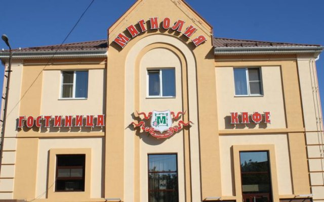 Гостиница Магнолия вид на фасад