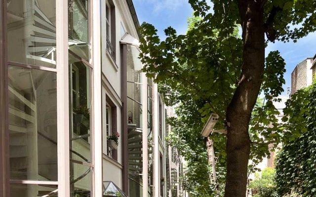Отель Le Hameau de Passy Франция, Париж - отзывы, цены и фото номеров - забронировать отель Le Hameau de Passy онлайн вид на фасад