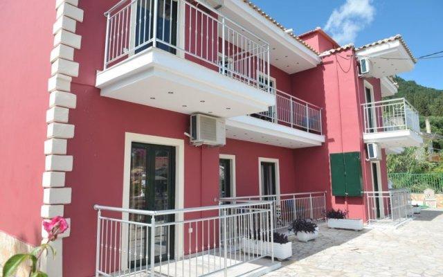 Kerkyra Beach Hotel вид на фасад
