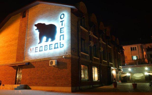 Гостиница Медведь вид на фасад