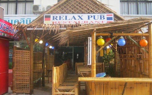 Отель Relax Pub & Guesthouse вид на фасад