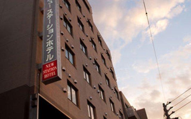 New Station Hotel Исахая вид на фасад