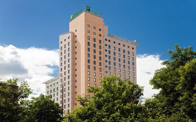 Гостиница Холидей Инн Москва Сущевский вид на фасад
