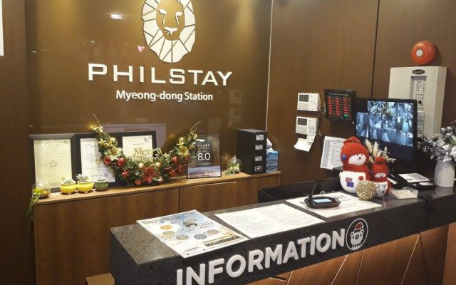 Отель Philstay Myeongdong Station питание