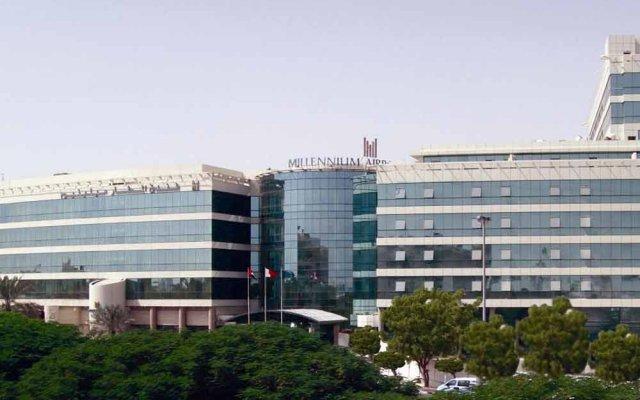 Отель Millennium Dubai Airport ОАЭ, Дубай - 3 отзыва об отеле, цены и фото номеров - забронировать отель Millennium Dubai Airport онлайн вид на фасад