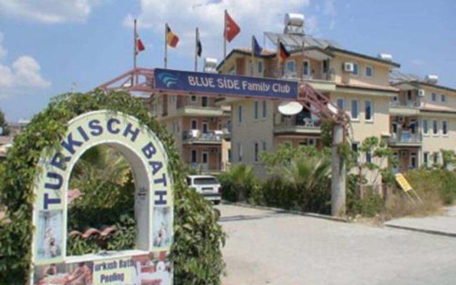 Blue Side Family Club Турция, Сиде - отзывы, цены и фото номеров - забронировать отель Blue Side Family Club онлайн вид на фасад