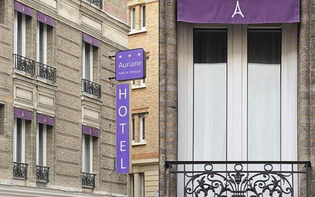 Hotel Auriane Porte de Versailles вид на фасад