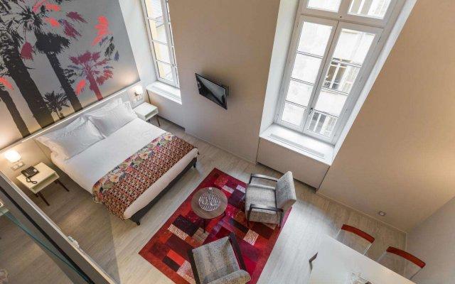 Отель Palais Saleya Boutique Hôtel комната для гостей