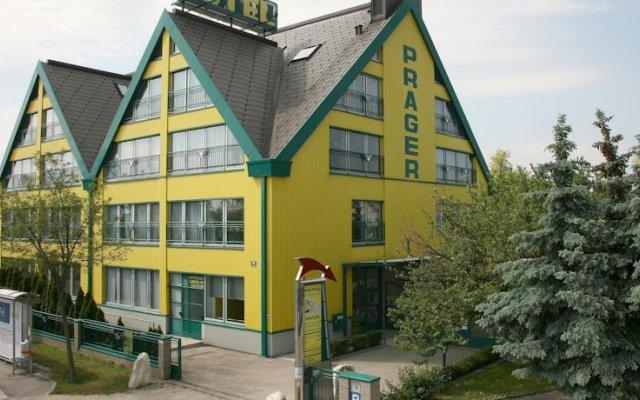 Hotel Asperner Löwe Вена вид на фасад