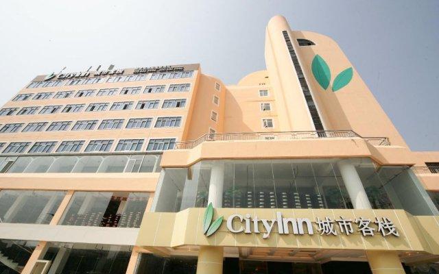 Отель City Inn - Baoan Venture Road вид на фасад