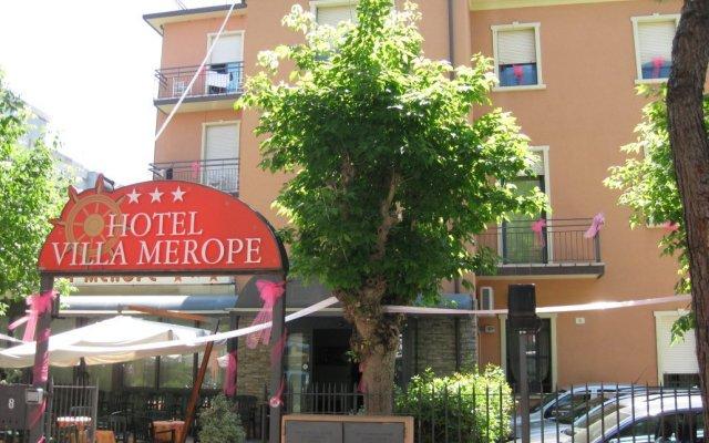 Hotel Villa Merope вид на фасад
